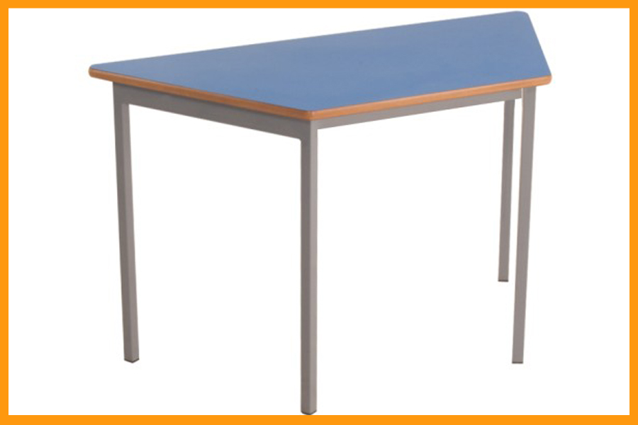 Trapezoid table ambic ltd for Trapazoid table